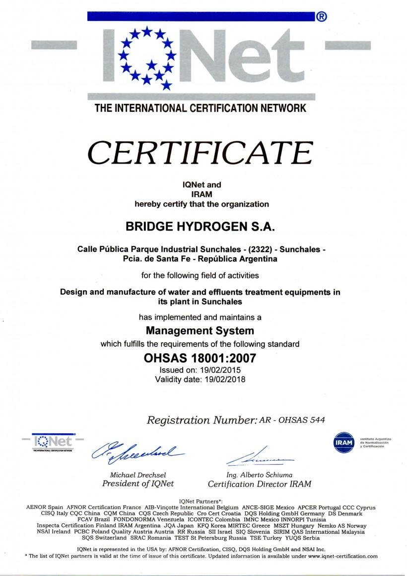OHSAS-18001-IQNET