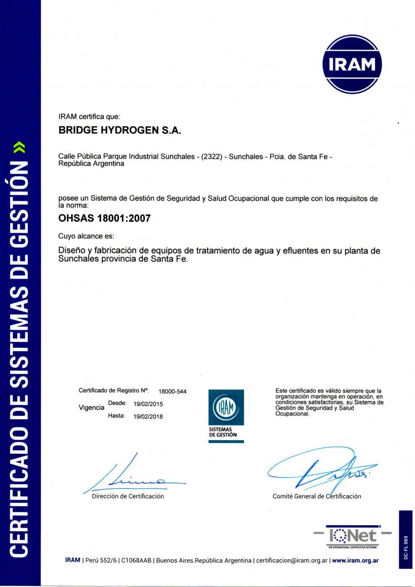 OHSAS-18001-IRAM